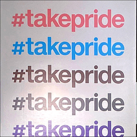 #TakePride Mannequin Visual Merchandising