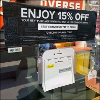 Converse Discount Window-Cling Promotion