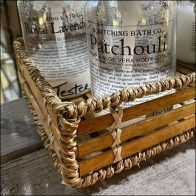 Bewitching Bath Handcrafted Tray Merchandising