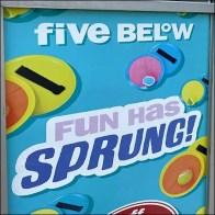 Fun-Has-Sprung Sidewalk Sign