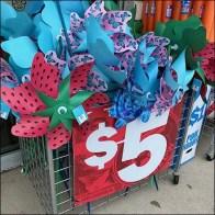 Sidewalk Pinwheel Promotion Par Excellence