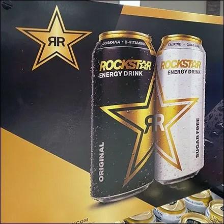 Rockstar Energy Drink Tower Display