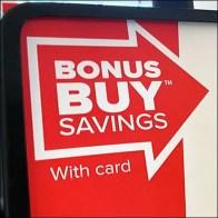 Bonus-Buy Salad Savings Sign Strategy