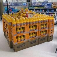 Sunny-D Orange-Flavored Drink Display