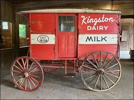 Kingston Dairy Horse-Drawn Milk-Wagon