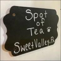 Wildflower Farms Spot-of-Tea Rack