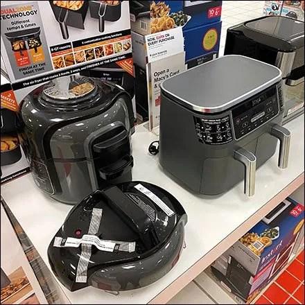 Macy's Ninja-Foodi Small Appliance Display