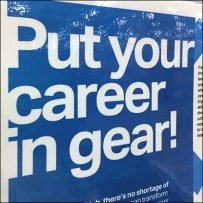 Put-Your-Career-In-Gear Hiring Poster
