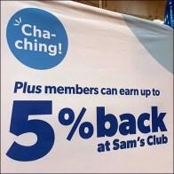 Credit Card Cash-Back Fabric Banner