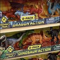 Dinosaur-vs-Dragon Display Pallet