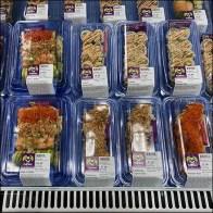 FujiSan Sushi Cooler Visual Merchandising