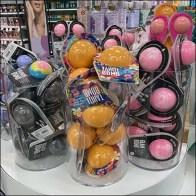 Glam-Bomb Bath-Bubbles Acrylic Merchandiser