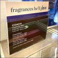 Coach Fragrances-He'll Love Itemized List