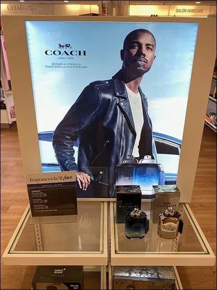 Proud Coach Men's Fragrance Display