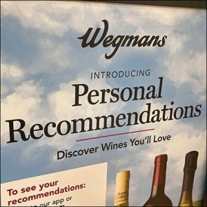Personal Wine Recommendations Advice Available