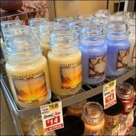 Village Candle Freestanding Display