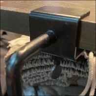 Zumiez Shoe Ledge C-Clamp Closeup