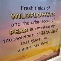 Fresh Honey Wildflower Field Imagery