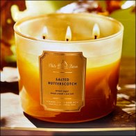 Most-Loved Butterscotch Candle Display