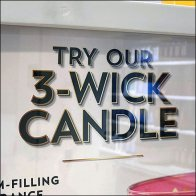 Try Our 3-Wick Candle Invitation