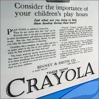 Crayola Vintage Play Advice Poster