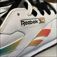 Reebok Rainbow Pride Leather Sneaker