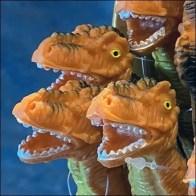 T-Rex Dinosaur Pen Shelf-Top Display