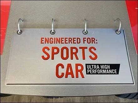 Firestone Sports Car Tire Flip-Chart