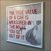 In-Store Branding True Car Value Measures