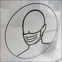 H&M Mall Concourse Face Mask Notice