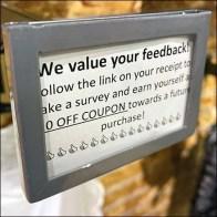 Hot Topic Faceout Label Holder Survey
