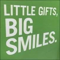 Little-Gifts Big-Smiles Display Creative