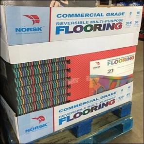 NorskReversible Flooring Pallet Display