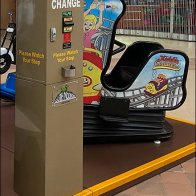 Modern Mall Change Machine Amenity