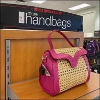 TJMaxx More Handbags Endcap Display Feature