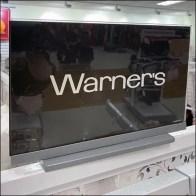 Warner's Bra Merchandising Endcap Display