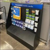 Reloadable Debit-Card Half-Height DisplayReloadable Debit-Card Half-Height Display
