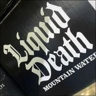 Liquid Death Mountain Water Display