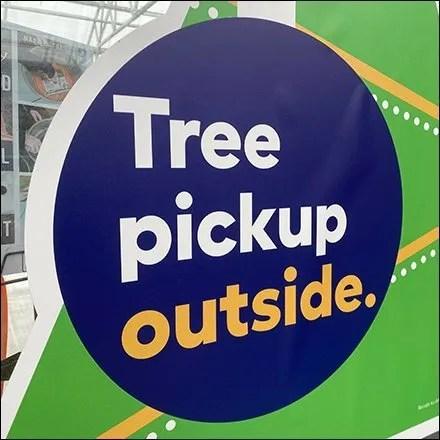Christmas Tree Pickup Pronouncement