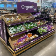 Royal Purple Organic Produce Island