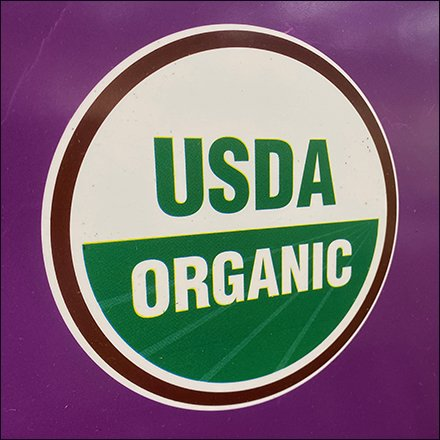 USDA Organic Seal of Approval