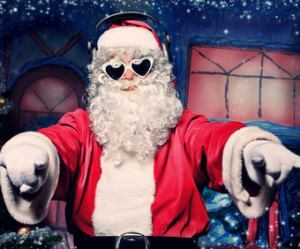Weihnachtsmann Nebenjob