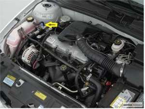Chevrolet Cavalier radiator cap location Questions