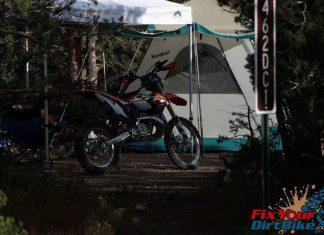 Cedro Peak Camping
