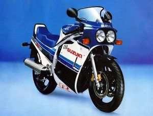 Suzuki Cycles 1986 GSX-R750 Sport Bike