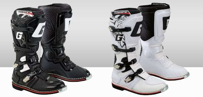 Gaerne GX-1 Motocross Boots White and Black