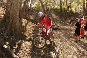 Motorcycle Balance Trials Bike