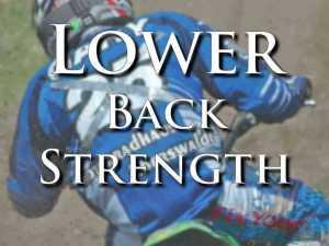 Rider Fitness: Lower Back Strength Training