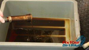 12 drain internal oil