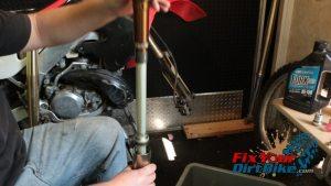 9 remove compression unit from tube